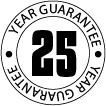 25 Year Guarantee on our Fibreglass Roofing